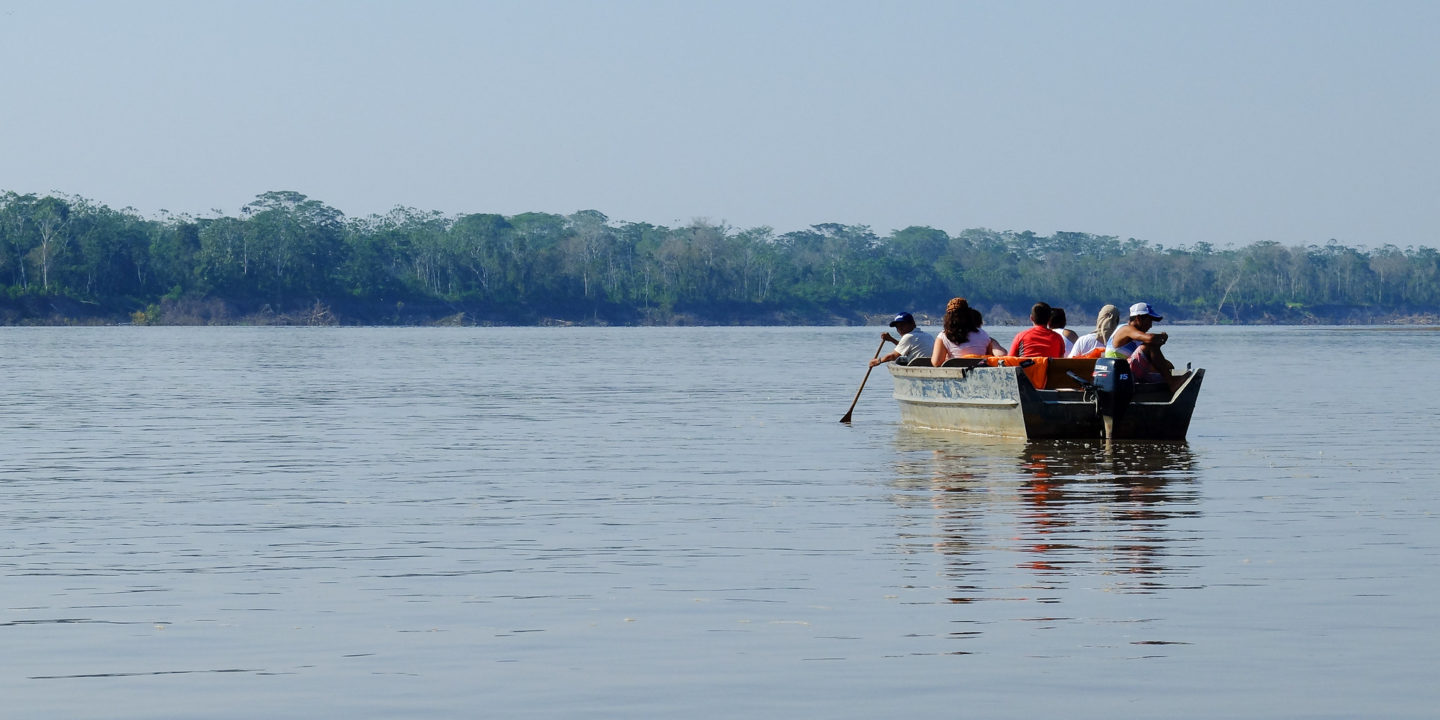 Communities that depend on the river say the Amazon Waterway could affect their livelihoods