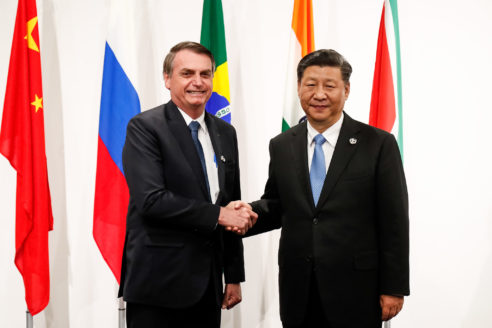 Bolsonaro China