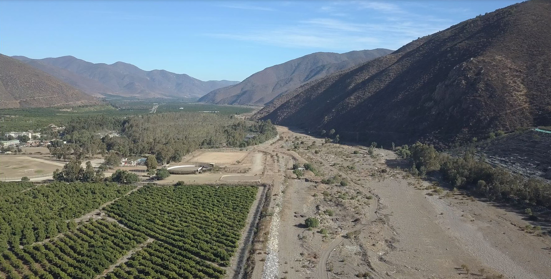 Chile drought drives water competition