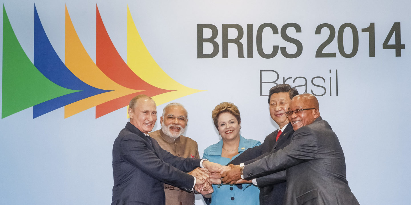 BRICS leaders launched the New Development Bank (NDB) in 2014