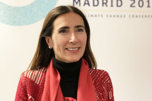 Carolina Schmidt COP25 Madrid