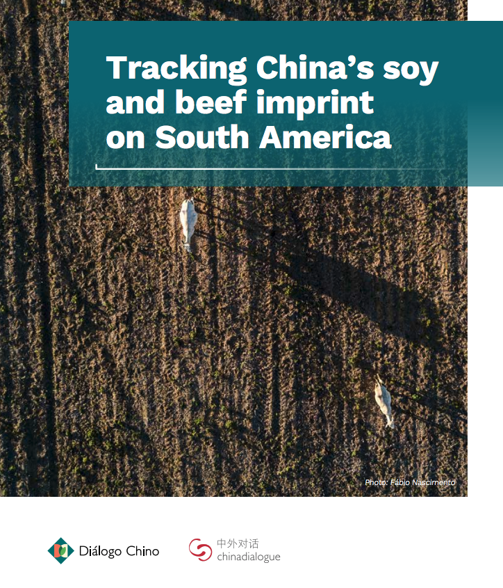 China soy beef South America
