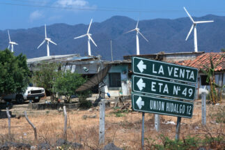 Mexico renewable energy Oaxaca wind