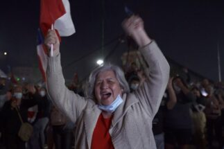 Chile plebiscite new constitution celebration