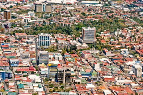 Transport in Costa Rica's poorly planned cities is a principal source of CO2 emissions