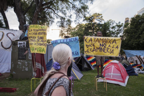 Opposition to mining is present across Latin America