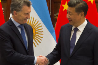 Macri and Xi G20 2018