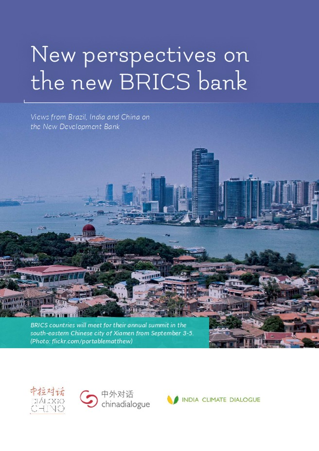New perspectivs on the new BRICS bank